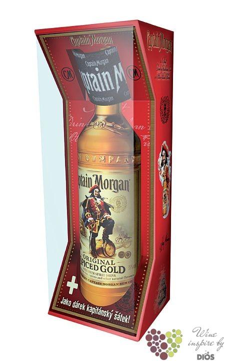 "Captain Morgan "" Original Spiced Gold "" scarf gift pack Jamaican rum 35%  vol. 3d46eb8c2f"