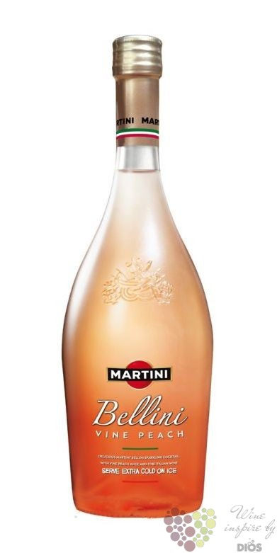 "Martini "" Bellini "" sparkling wine & peach drink 8% vol. 0 ..."