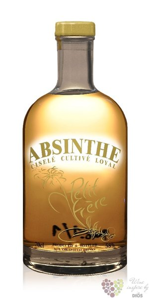 "Petit frere "" Natural "" Czech absinth by L´or special drinks 58% vol.   0.70 l"