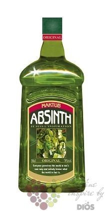 "Maktub "" Original "" Czech Absinth 70% vol.    0.70 l"