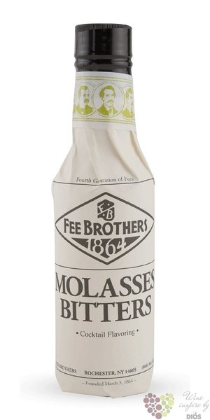"Fee Brothers bitters "" Molasses ""  coctail flavoring 2.4% vol.  0.15l"
