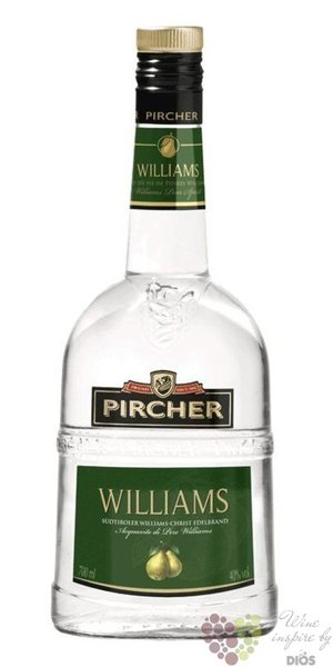 "Pircher "" Williams "" South Tyrol pear Williams brandy 40% vol. 0.70 l"