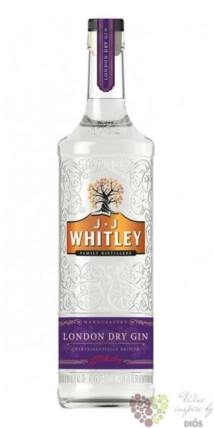 JJ Whitley English London dry gin 37.5% vol.  0.70 l