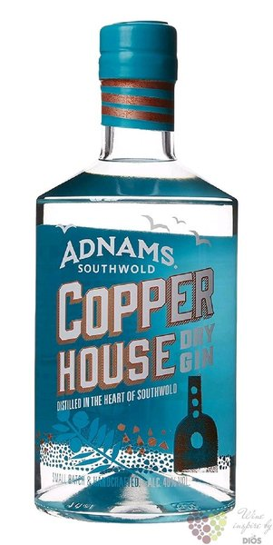 "Adnams Southwold "" Copper house  "" British dry gin 40% vol.  0.70 l"