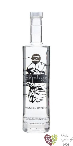 "Zephyr "" Black Premium Reserve "" English London dry gin 44% vol.     0.70 l"