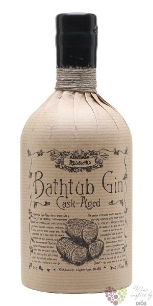 "Professor Cornelius Ampleforth´s "" Bathtub Cask aged "" English London dry gin 43.3 vol.  0.50 l"
