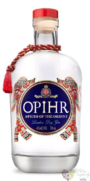 Opihr British orient spice London dry gin 42,5% vol.  0.05 l
