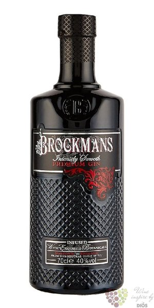 "Brockman´s "" Intensely Smooth "" premium English gin 40% vol.  1.00 l"