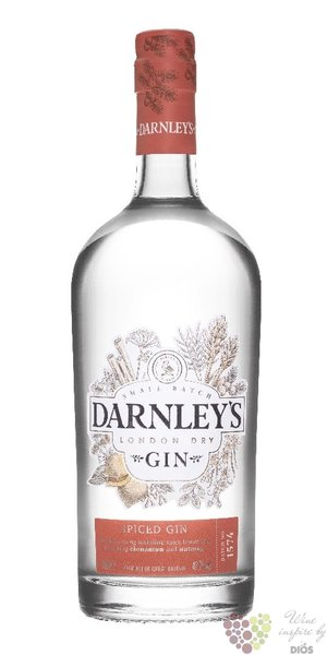 "Darnley´s "" Spiced "" English London dry gin 42.7% vol.  0.70 l"