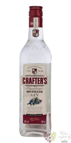 Crafter´s London dry Estonian gin 38% vol.  1.00 l