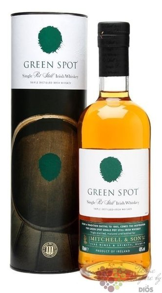 Green Spot pure pot still Irish whiskey by Mitchell & Son 40% vol.  0.70 l