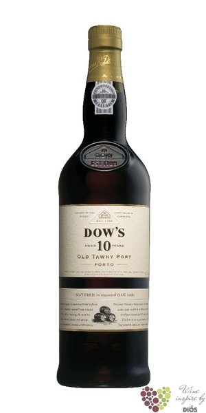 Dow´s port wine tawny 10 years old Porto Doc by Symington Family 20% vol.    0.75 l
