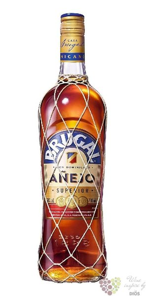 "Brugal aňejo "" Superior "" aged 5 years glass pack rum of Dominican republic 38%vol.   0.70 l"