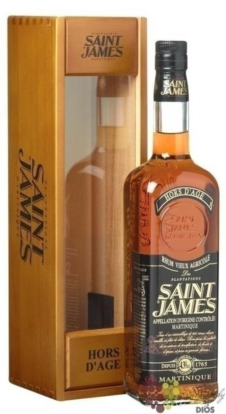 "Saint James agricole vieux "" Horse d´Age "" aged rum of Martinique 43% vol.   0.70 l"