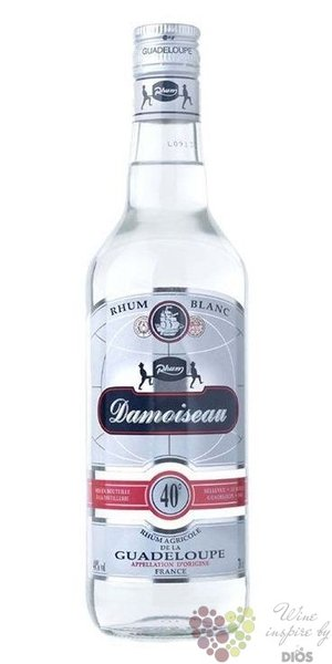 Damoiseau agricole blanc rum of Guadeloupe 40% vol.  0.70 l