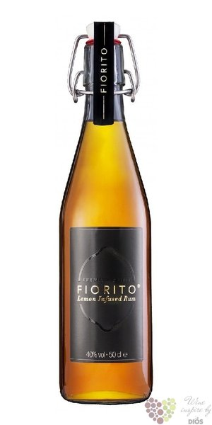 Fiorito lemon infused rum of Caribbean islands 40%  0.50 l
