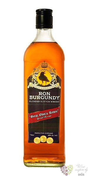 Ron Burgundy blended Scotch whisky 40% vol.  0.70 l