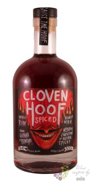 Cloven Hoof Spiced caribbean flavored rum 37.5% vol.  0.70 l