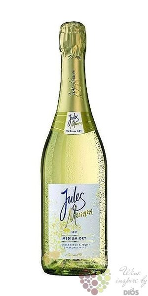 "Mumm & Co "" Jules "" Medium dry Rheingau German sparkling wine    0.75 l"