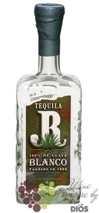 "JR "" Blanco "" 100% of Blue agave Mexican tequila 40% vol.      0.70 l"