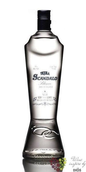 "Scandalo "" Blanco "" 100% of Blue Agave Mexican tequila 35% vol.    0.70 l"