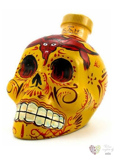 "Kah "" Reposado "" 100% of blue agave Mexican tequila 55% vol.  0.70 l"