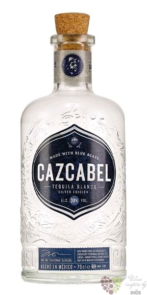 "Cazcabel "" Blanco "" pure agave Mexican tequila 38% vol. 0.70 l"