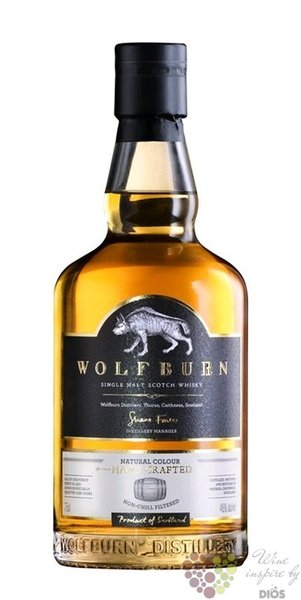 "Wolfburn "" First release "" Highlands whisky 46% vol. 0.70 l"