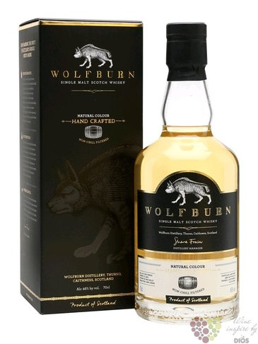 "Wolfburn "" Northland "" Highlands whisky 46% vol. 0.70 l"
