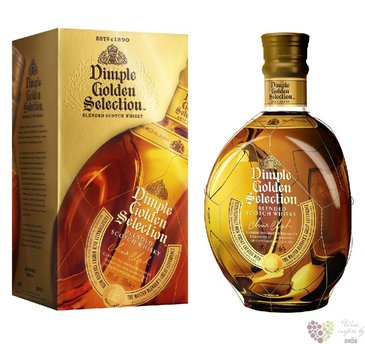 "Dimple "" Golden selection "" premium blended Scotch whisky 40% vol.   0.70 l"