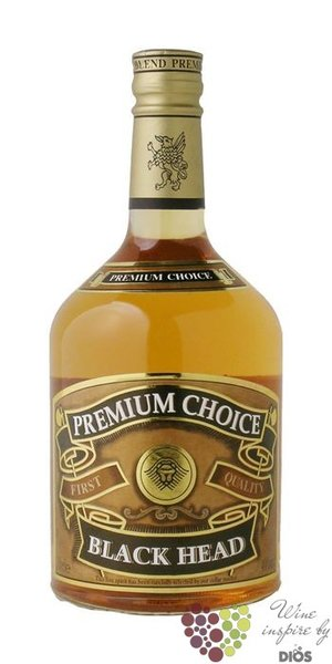 "Black Head "" Premium choice "" blended Scotch whisky 40% vol.     0.70 l"