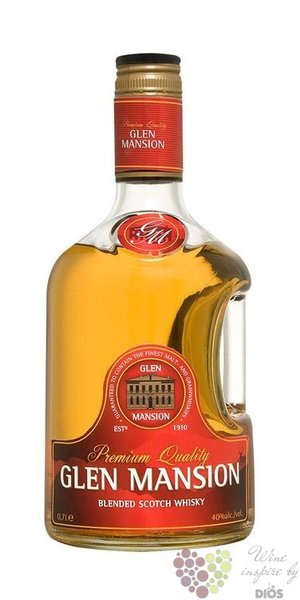 Glen Mansion premium blended Scotch whisky 40% vol.  1.00 l