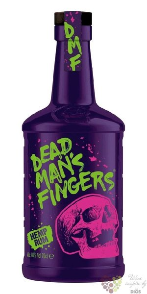 "Dead mans finger "" Hemp "" CBD Infused Caribbean rum 37.5% vol.  0.70 l"