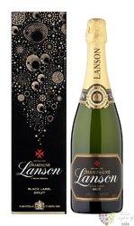 """Lanson blanc """" Black label """" brut gift box Champagne Aoc  0.75 l"""