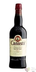 "Sherry de Jerez Cream "" Canasta "" Do sweet superior by Williams & Humbert 19.5%vol.  0.75 l"