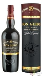 "Sherry de Jerez Pedro Ximénez "" Don Guido "" Do aged 20 years by Williams & Humbert     0.75 l"