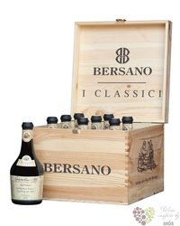"Bersano "" Collection "" luxury wood box    9 x 0.50 l"
