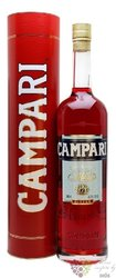 "Campari "" Bitter "" gift box Italian herbal liqueur by Davide Campari 25% vol.  1.00 l"