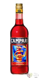 "Campari "" Depero art labels "" Italian liqueur by Davide Campari Milano 28.5%vol.    1.00 l"