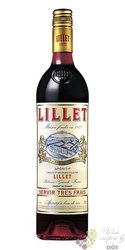 "Lillet "" Rouge "" French aperitif wine 17% vol.   0.75 l"