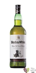 Black & White choice old Scotch whisky 40% vol.    1.00 l