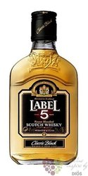 "Label 5 "" Classic Black "" finest blended Scotch whisky 40% vol.   0.20 l"