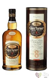 """Glen Turner """" Special Reserve """" aged 8 years pure malt Scotch whisky 40% vol.0.70 l"""