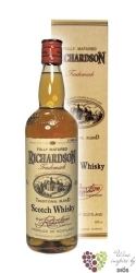 Richardson gift box blended Scotch whisky 40% vol.    0.70 l