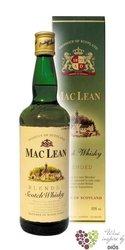 Mac Lean blended Scotch whisky 40% vol.    0.70 l