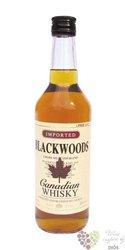 Blackwoods Canadian blended whisky 40% vol.   0.70 l