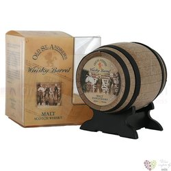 "Edition "" Whisky Barrel ""aged 10 years malt whisky by Old St.Andrews 40% vol. 0.05 l"