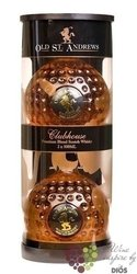 "Golf Edition "" Clubhouse "" blended Scotch whisky by Old St. Andrews 40% vol.   2x 0.50 l"