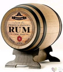 """Old S.Andrew """" Admiral cask """" aged Panamas rum 40% vol.  0.70 l"""