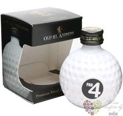 "Golf Edition "" Clubhouse Par 4 "" Blended Scotch whisky by Old St. Andrews 40% Vol.     0.05 l"